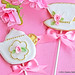 English Rose Teaset cookies