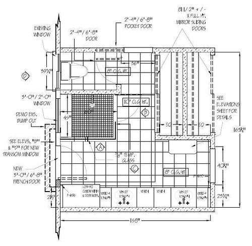 Our Bathroom Floor Plans At