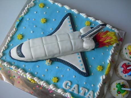 Rocket Cake Pan
