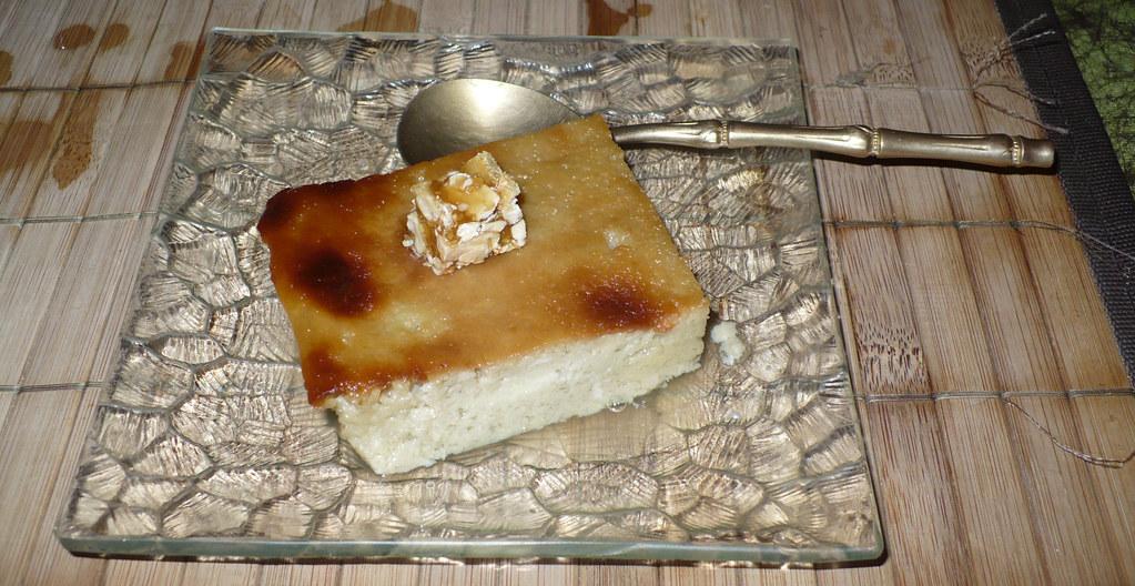 dessert custard tart flan au lait de coco grill flickr. Black Bedroom Furniture Sets. Home Design Ideas