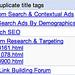 Google Duplicate Title Tags Bug