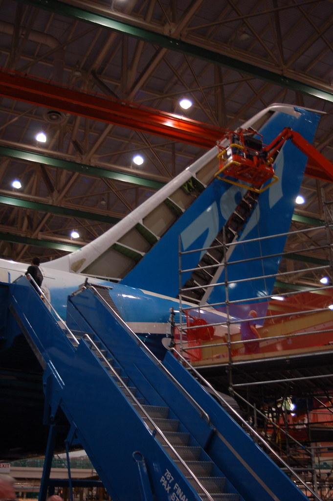 Video Camera Stabilizer >> Boeing 787 ZA001 N787BA Vertical Stabilizer | Boeing 787 Med… | Flickr