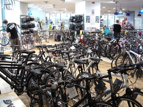 Bicycle shop in Birmingham | by Sibad