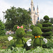 Minnie and Mickey Topiary