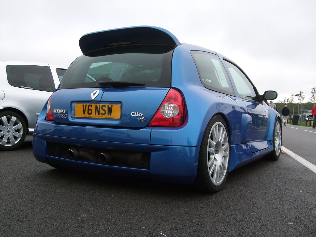renault clio v6 sport 3 litre mark edwards flickr. Black Bedroom Furniture Sets. Home Design Ideas