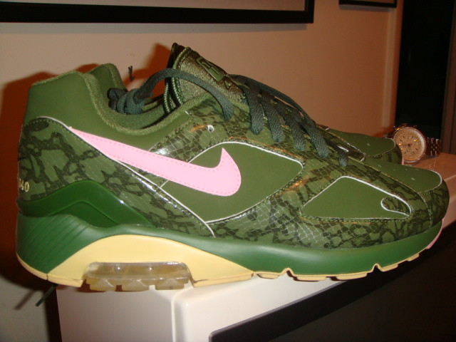 97239076478fa ... coupon for nike air max 180 cowboy sole collector miami green pink by  superkix 716b8 415c5