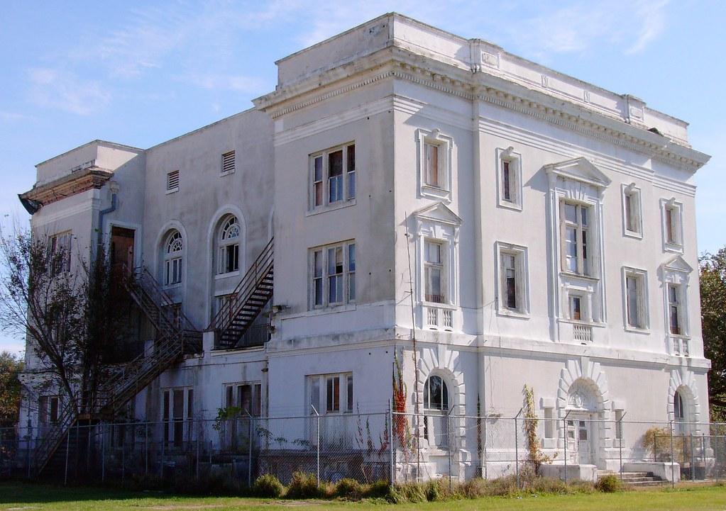 Old Saint Bernard Parish Courthouse (Saint Bernard, Louisi ... Beauregard Parish