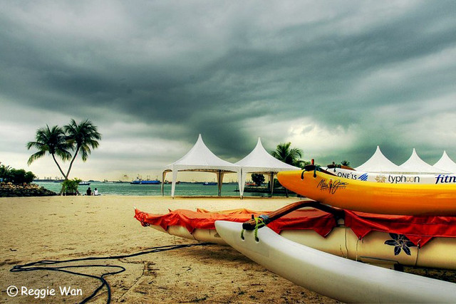 Tanjung Beach, Sentosa, Singapore.
