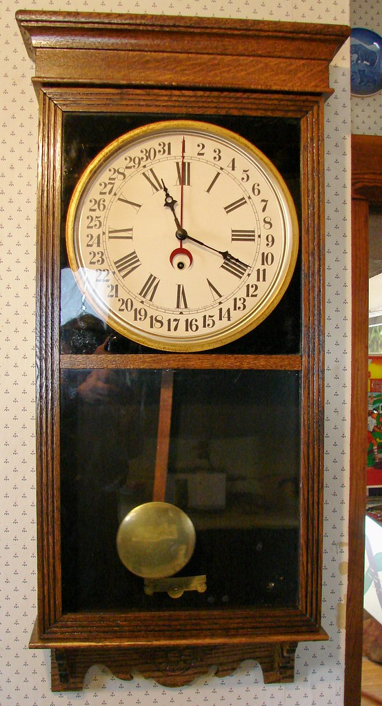 1910 sessions regulator no 2 calendar clock 6