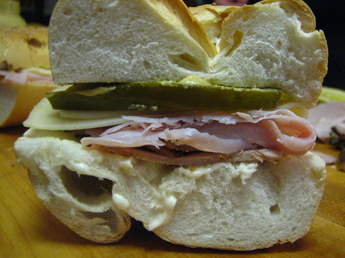Cuban Sandwich before being cooked | by SeppySills