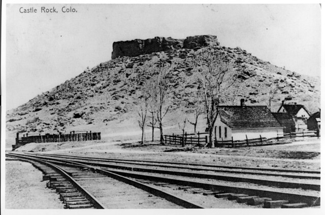 Denver And Rio Grande Railroad Siding Castle Rock Colora