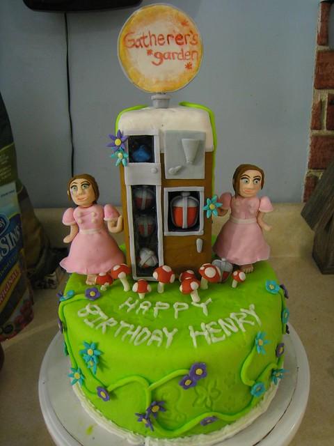 Bioshock Birthday Cake