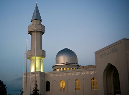 Ontario >> Baitun Nur Mosque, Calgary - Canada - Evening View | Flickr