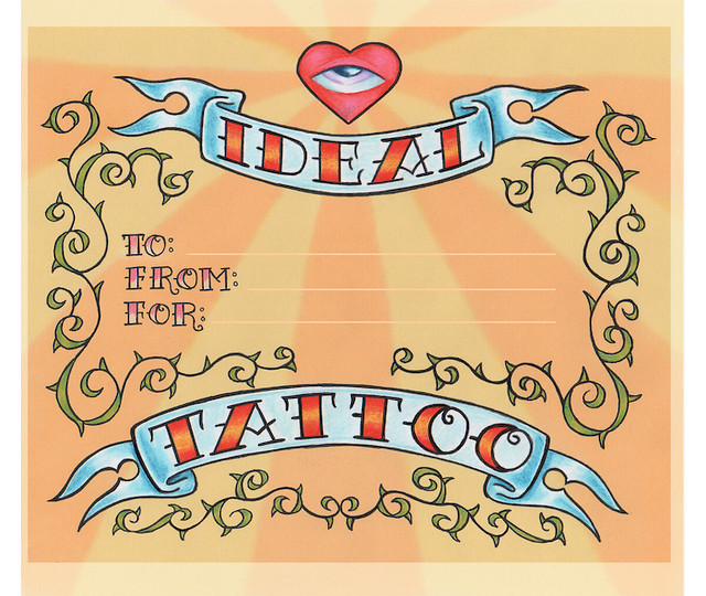 Ideal Tattoo Gift Certificate Riko Colin Chock Flickr