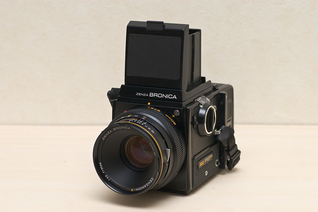 bronica sq with zenzanon-s 80mm