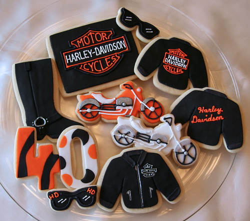 Motorcycle Wedding Cake Ideas
