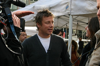 Jamie Oliver in Union Square | by really short