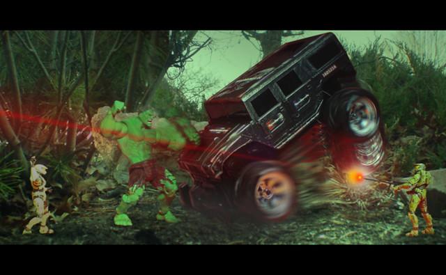 """Hulk vs Halo 3"" or ""Going Green"" | Dirk Blockwood | Flickr  ""Hulk vs H..."