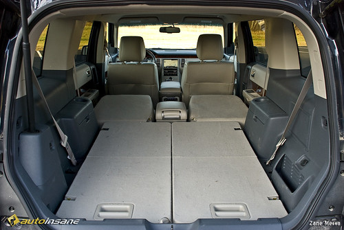 2009 ford flex interior storage flickr photo sharing. Black Bedroom Furniture Sets. Home Design Ideas