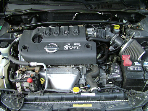 Nissan Qr25de Engine Of My 2002 Nissan Se R Spec V Tom