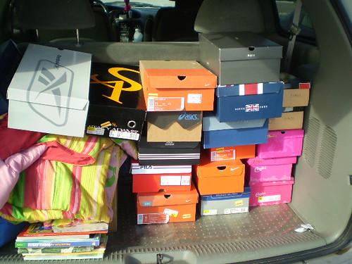 White Shoe Boxes Wholesale Uk