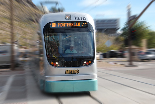Phoenix Metro Light Rail in Motion | by phxwebguy