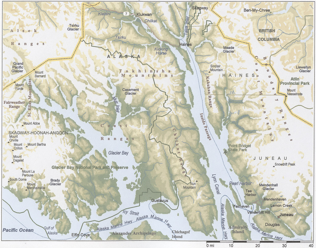 Juneau Alaska Alaska Cruise Maps Juneau Glacier