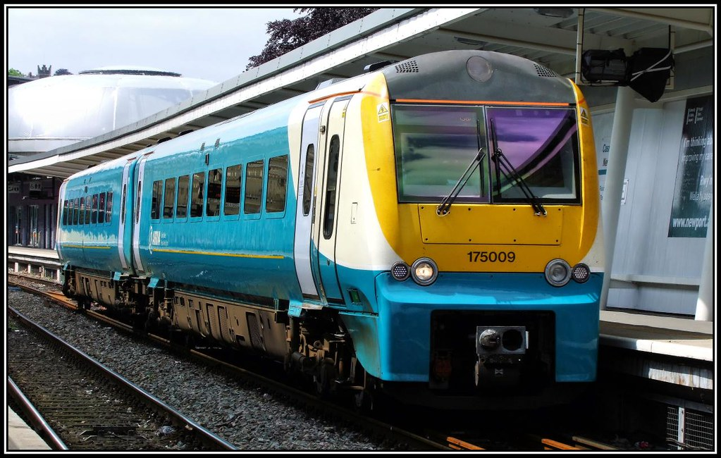 Arriva Trains Jobs >> Class 175, 175009, Arriva Trains Wales. | Seen departing fro… | Flickr