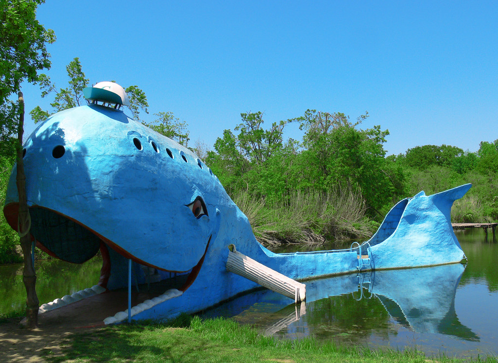the blue whale catoosa oklahoma a route 66 icon but