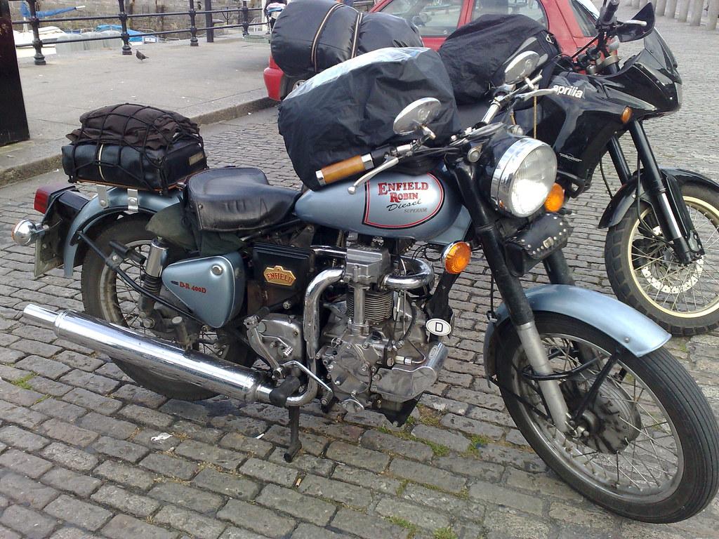 Enfield Robin Diesel   I've never seen a Diesel motorcycle ...