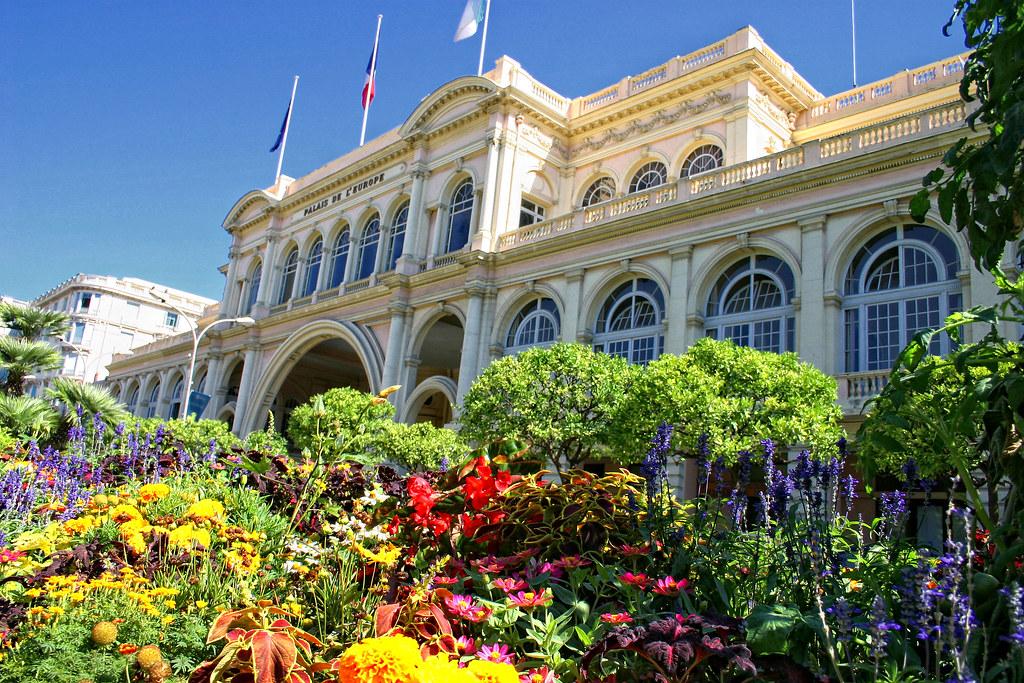 Menton le palais de l 39 europe d couvrez menton sur le site flickr - Office de tourisme de menton ...