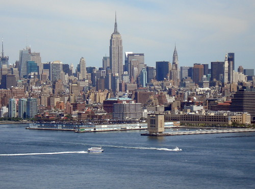 view of Manhattan | by PilotGirl