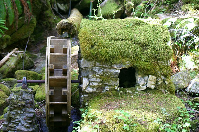 ... Miniature Water Wheel In The Ladder Creek Garden | By Adventures With  Eu0026L