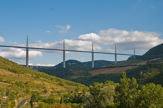 Millau Viaduct sequence 3, Aveyron, France, Sept. 2008 | by PhillipC