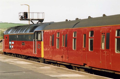 Travelling Post Office, Rail Express Systems Class 47, The Great West TPO UP,Penzance May 1992 | by sludgegulper
