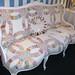 Quilt upholstered sofa (1)