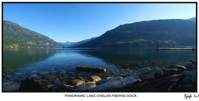 Panoramic lake chelan fishing dock please view large for Lake chelan fishing