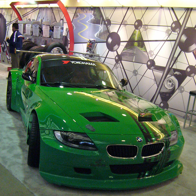 Bmw Z4 M Coupe: BMW Z4 M Coupe, Touring Class Race Car