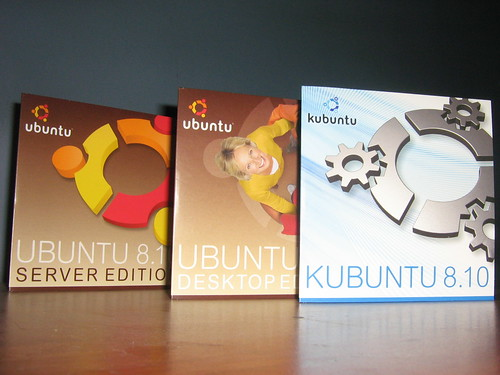 Discos de Ubuntu 8.10 (Intrepid Ibex) | by Gonzalo Diaz Cruz