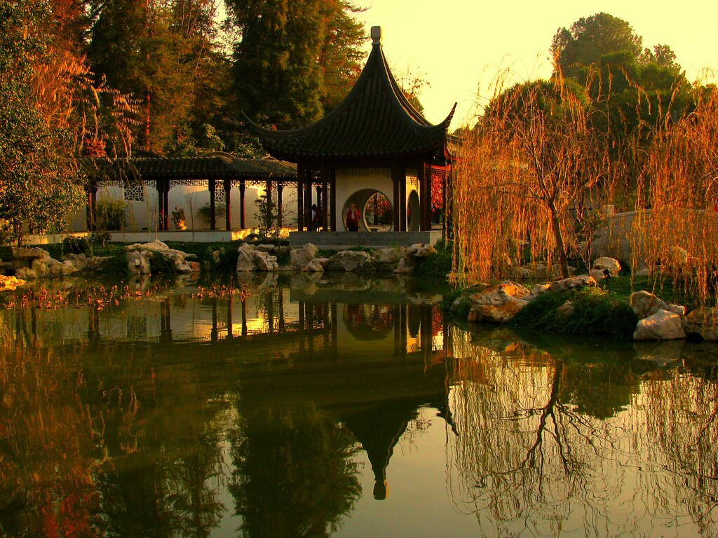 Chinese Garden At Huntington Library In Tribute To World T Flickr