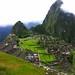 Peru - Machu Picchu -  Nebelfetzen,  76 v