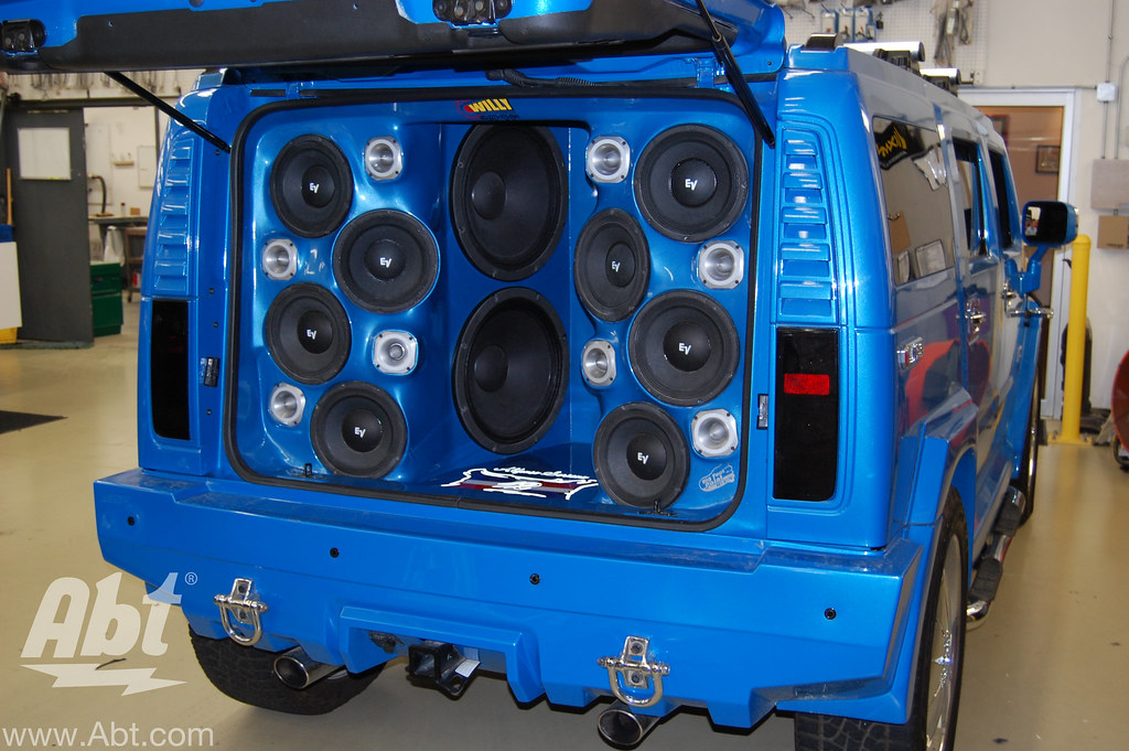 Abt Mobile Audio Sound Off Hummer H Soriano Abt Ele Flickr - Abt speakers