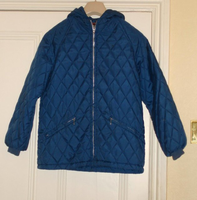 blue 1970s quilted anorak | 1970s quilted anorak | retroraver | Flickr : quilted anorak - Adamdwight.com