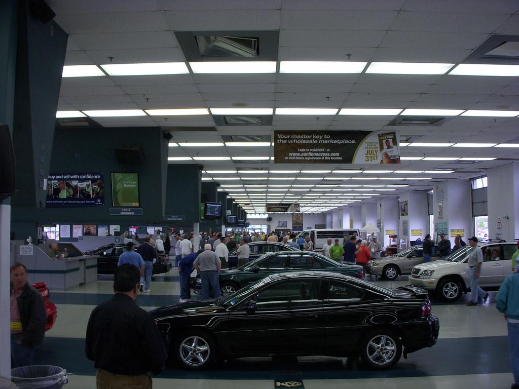 Manheim Car Auction: 12 Lanes Of Auctions, Manheim KC Auto Auction
