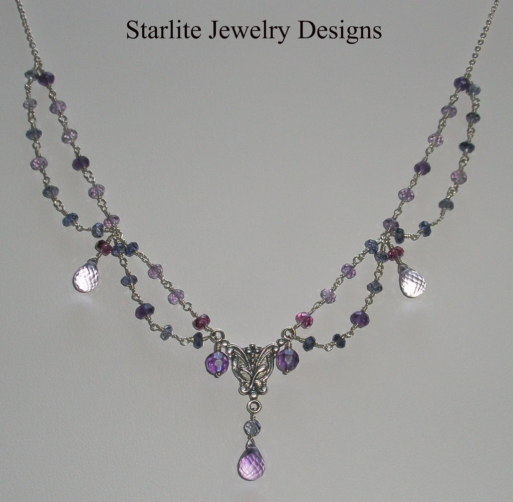 Starlite jewelry designs briolette necklace jewelry de flickr Design and style fashion jewelry