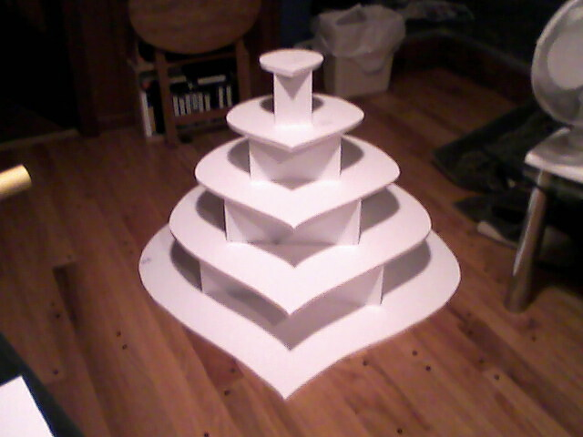 Wedding Cupcake Display By Kezam And Curio