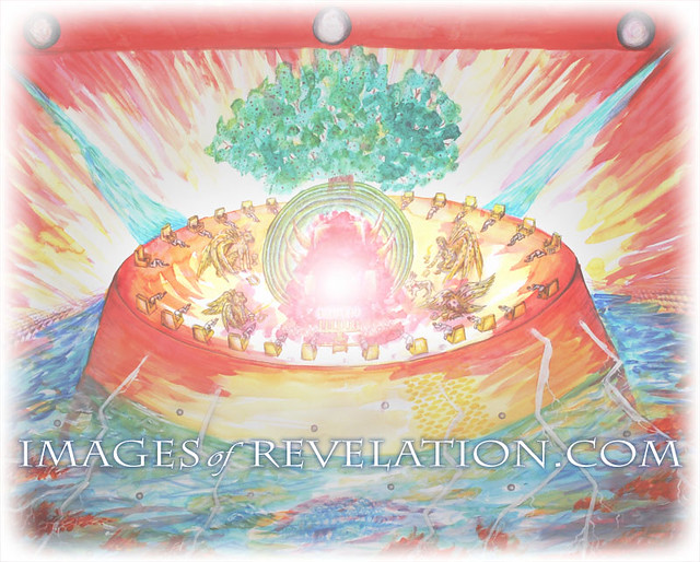 Heaventhronerevelation 4  A Painting Of The Throne Of -1026