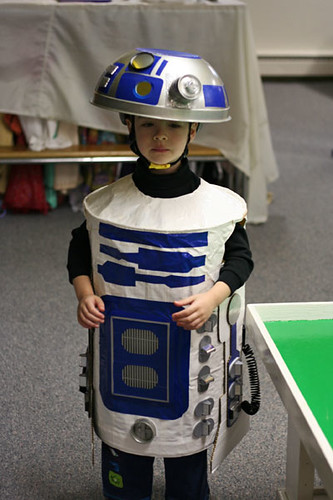 R2d2 Costume I Made This Costume For My Son Mostly