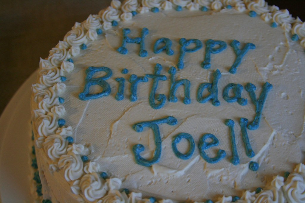 Happy Birthday Joel Cake