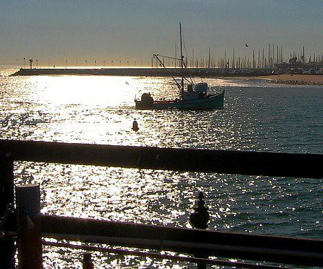 Santa barbara fishing boat tea fire afternoon cathy for Santa barbara fishing report